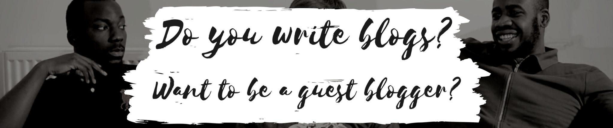 Do you write blogs?