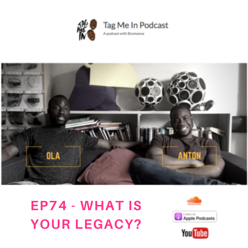 Legacy leaving your mark podcast