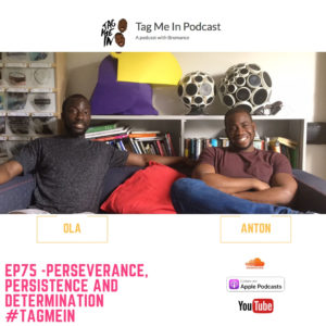 EP75 -Perseverance, Persistence and Determination